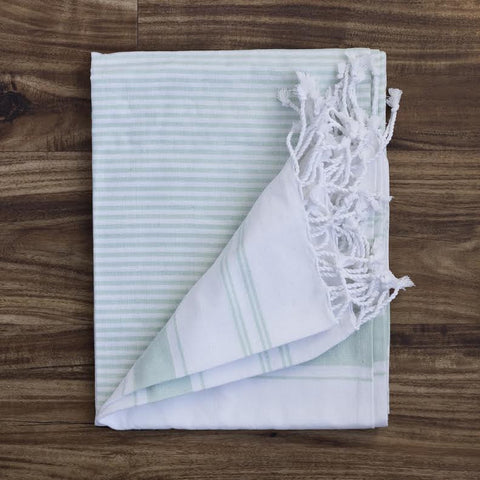 Turkish Towel - Aqua