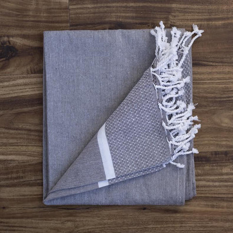 Turkish Towel - Grey