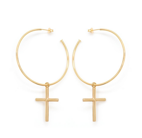 Halo Earrings - Gold