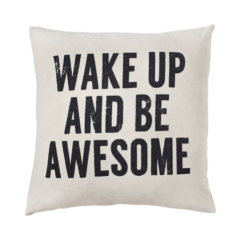 Wake Up Toss Cushion