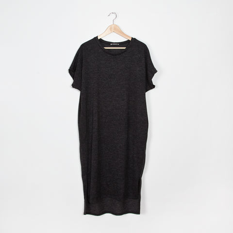 Monaco Faux Suede Dress with Pockets