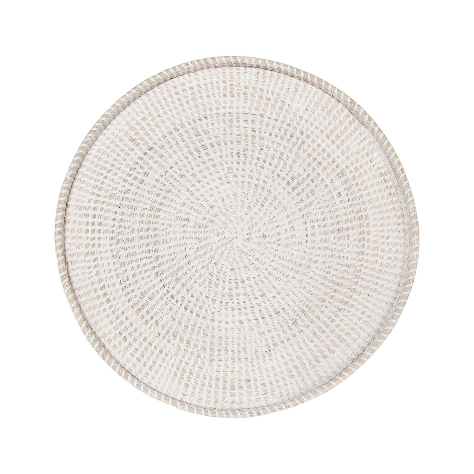 "Vina 22"" Wall Tray  - Whitewash"