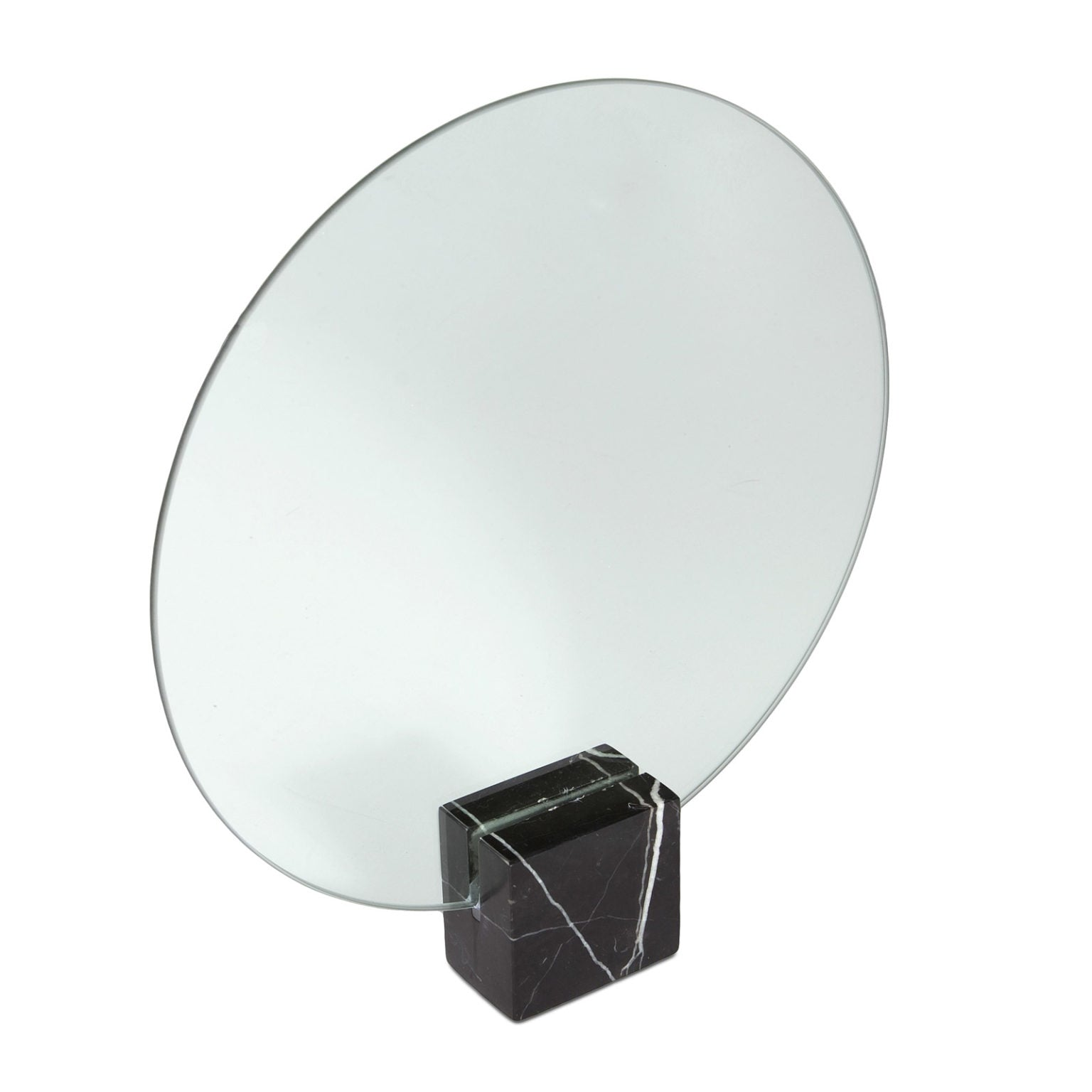 Moon Marble Mirror - Black