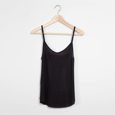 Sam Open Back Sweater - Black