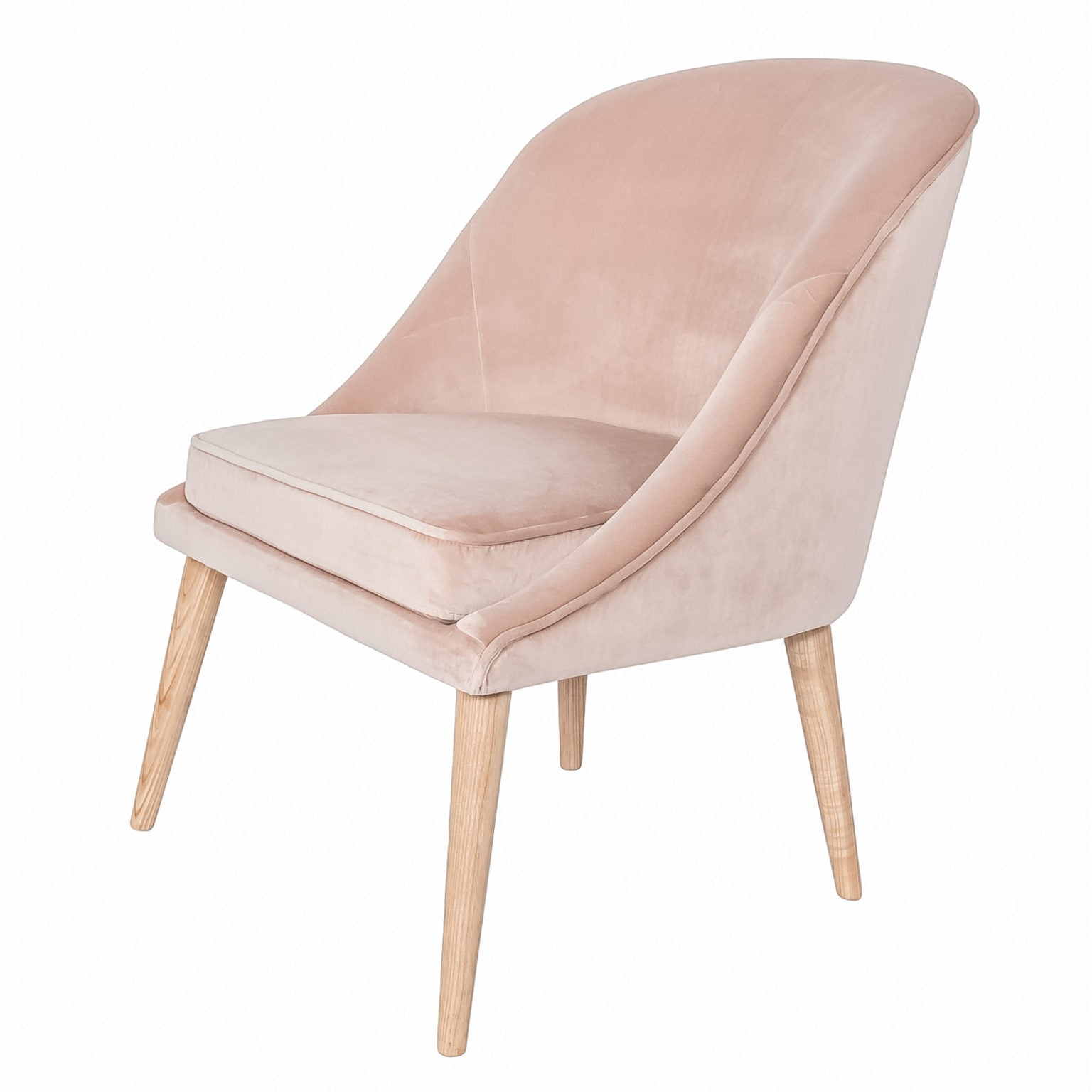 Bree Chair - Pale Coral
