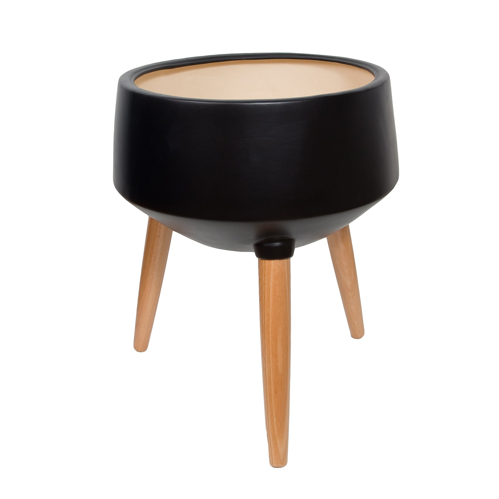 Circa Mood Planter - Black