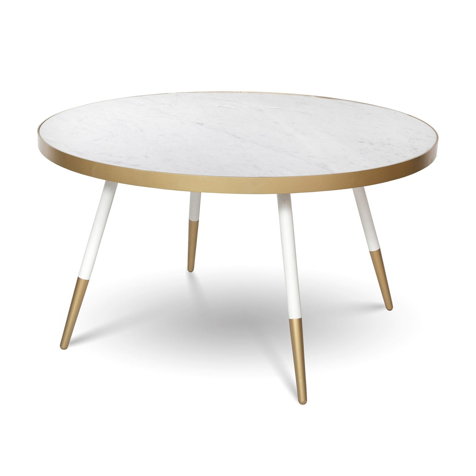 Florence Coffee Table - White Marble