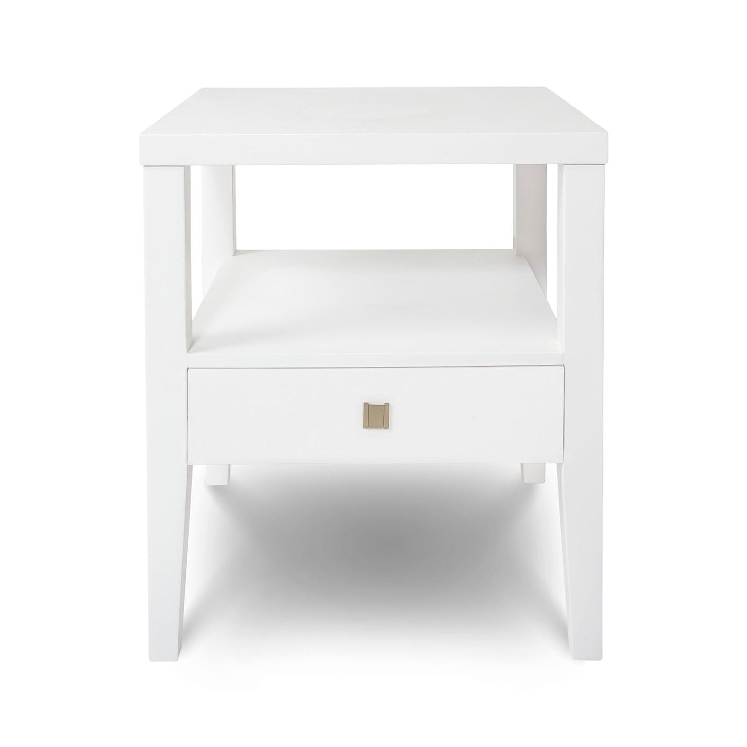 Hara 1 Drawer Accent Table - White