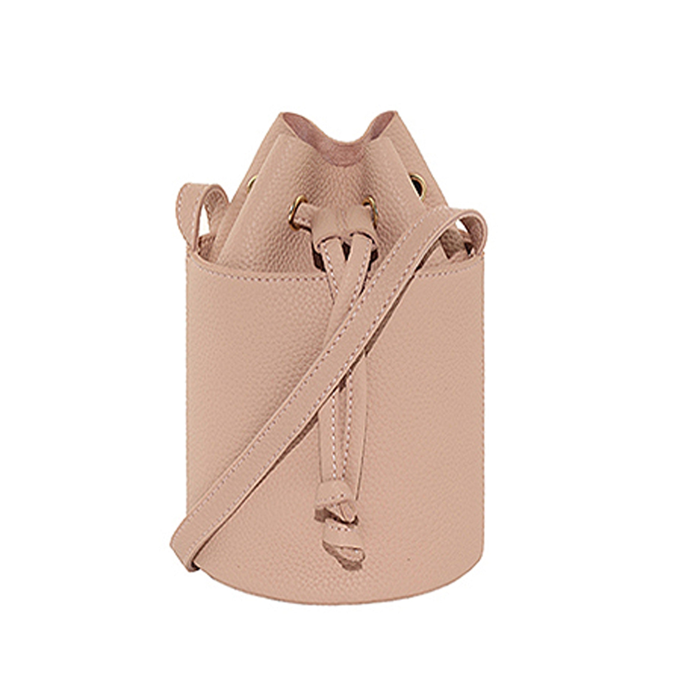 Ansley Bucket Bag - Blush