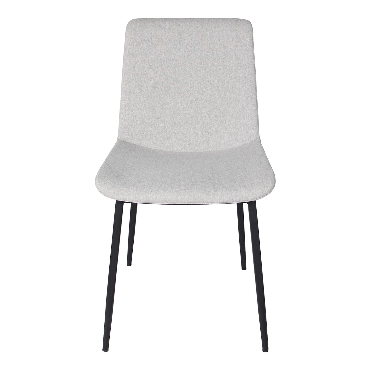 Thames Chair - Dove Grey/Matte Black