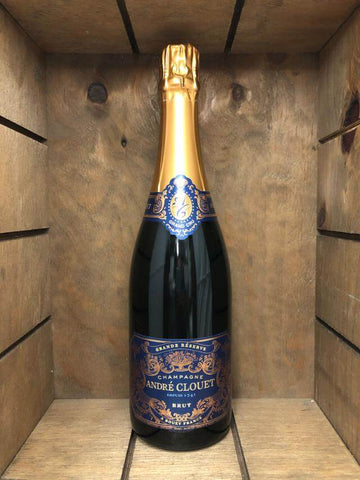Botella champagne Andre Clouet