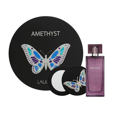 Lalique Amethyst Gift Set 100ml EDP + Mirror - equinoxoutlet