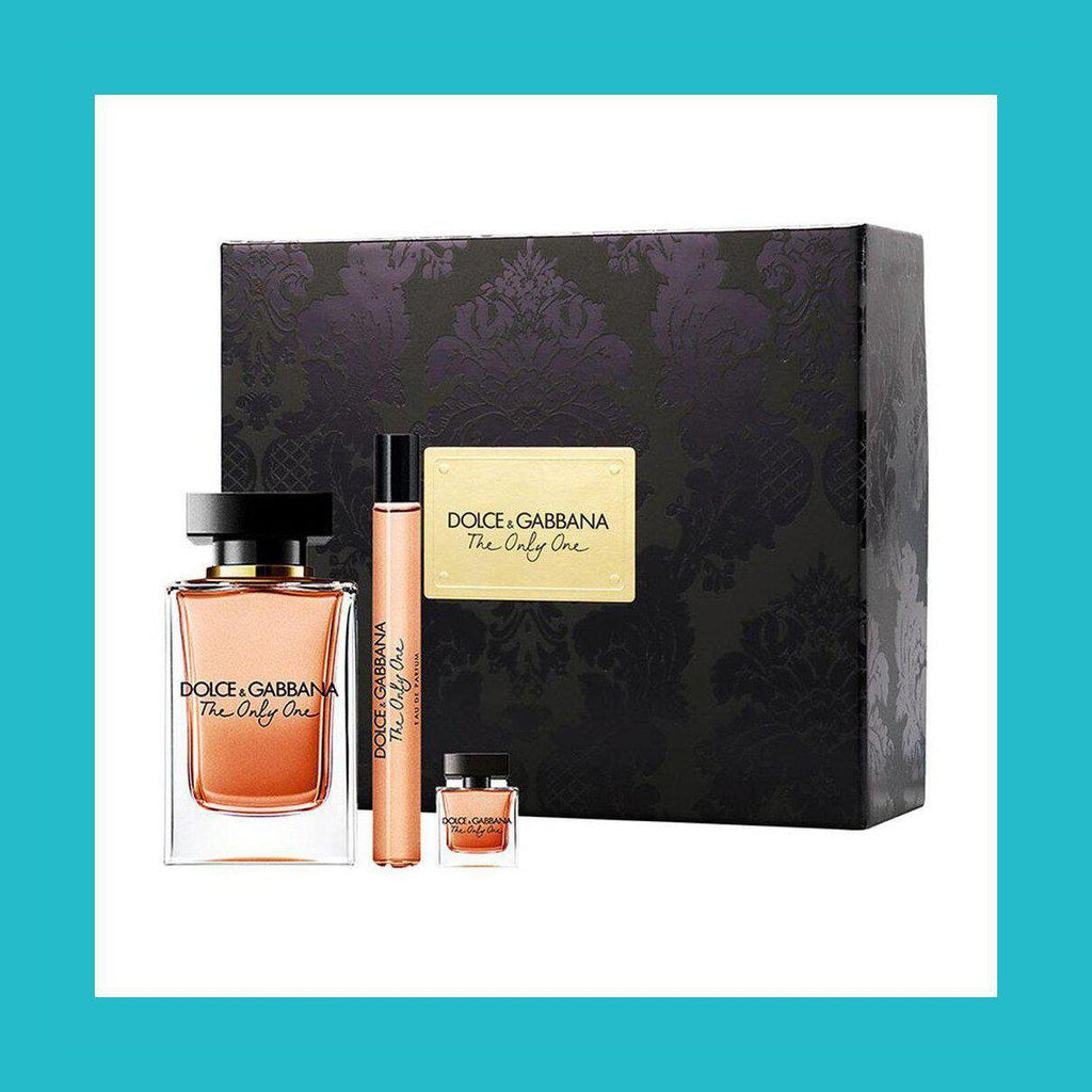Dolce & Gabbana The Only One Gift Set 100ml EDP + 10ml EDP + 7.5ml EDP | Equinox Outlet