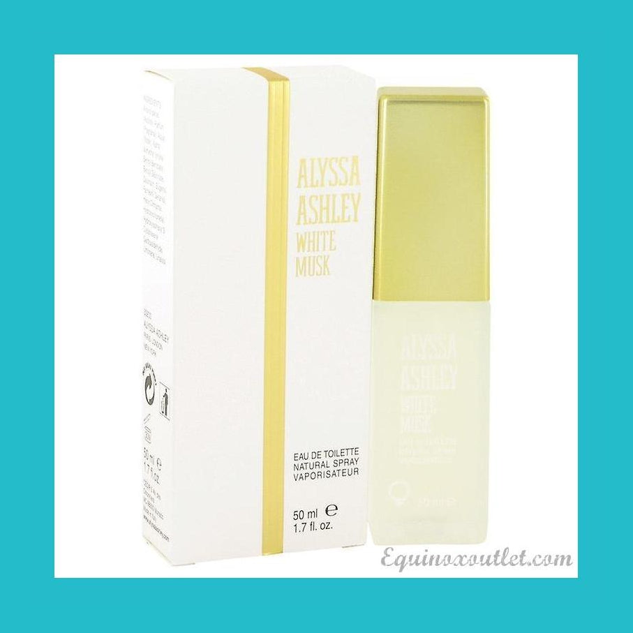 Alyssa Ashley White Musk Eau de Toilette 50ml Spray | Equinox Outlet