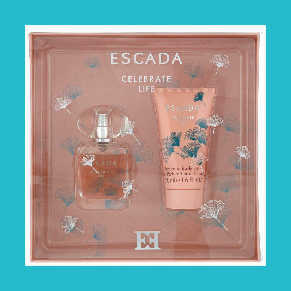 Escada Celebrate Life Gift Set 30ml EDP + 50ml Body Lotion | Equinox Outlet