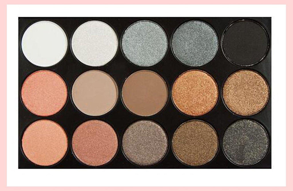 15 Colours Shimmer Eyeshadow Palette | Equinox Outlet