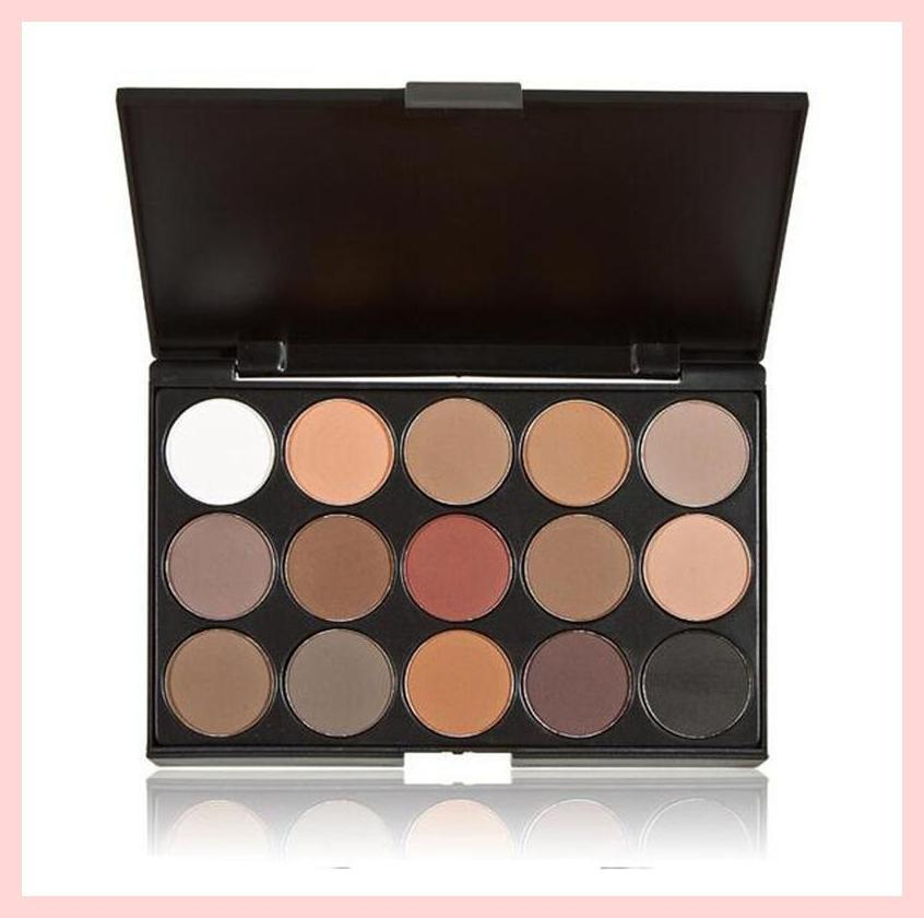 Smokey 15 Colours Matte Eyeshadow Palette | Equinox Outlet