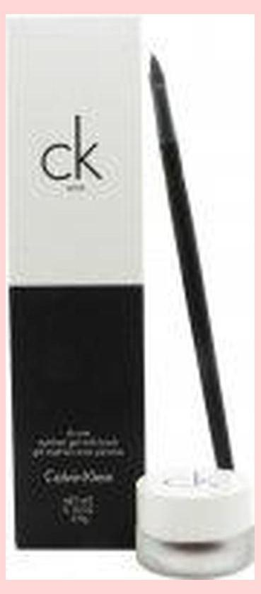 Calvin Klein CK One Cosmetics Set Brush + 2.8g Eyeliner Gel in Double Expresso | Equinox Outlet