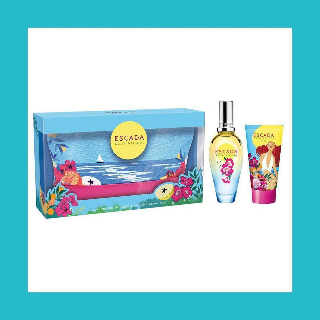 Escada Agua Del Sol Gift Set 30ml EDT + Cosmetic Pouch | Equinox Outlet