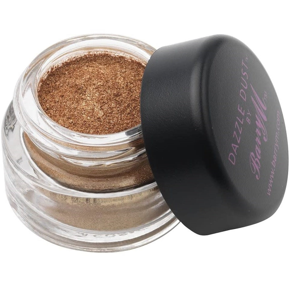 Barry M Dazzle Dust for Eyes, Lips, Face and Hair – 44 Bronze-Gold - equinoxoutlet