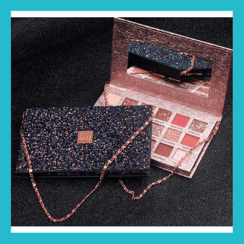 Bright Star River Eyeshadow Palette with Chain | Equinox Outlet