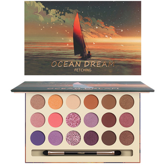 CaiJi 18 Colours Fantacy Fairy Tale World Eyeshadow Palette | 02 Ocean Dream | Equinox Outlet