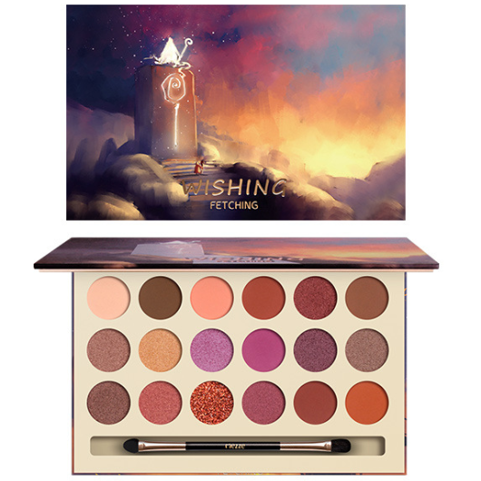 CaiJi 18 Colours Fantacy Fairy Tale World Eyeshadow Palette | 03 Wishing | Equinox Outlet