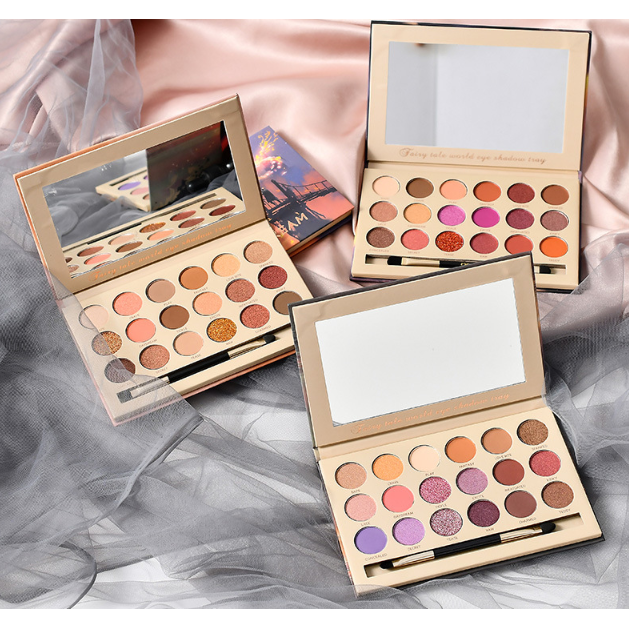 CaiJi 18 Colours Fantacy Fairy Tale World Eyeshadow Palette | 01 Light of Dream | Equinox Outlet