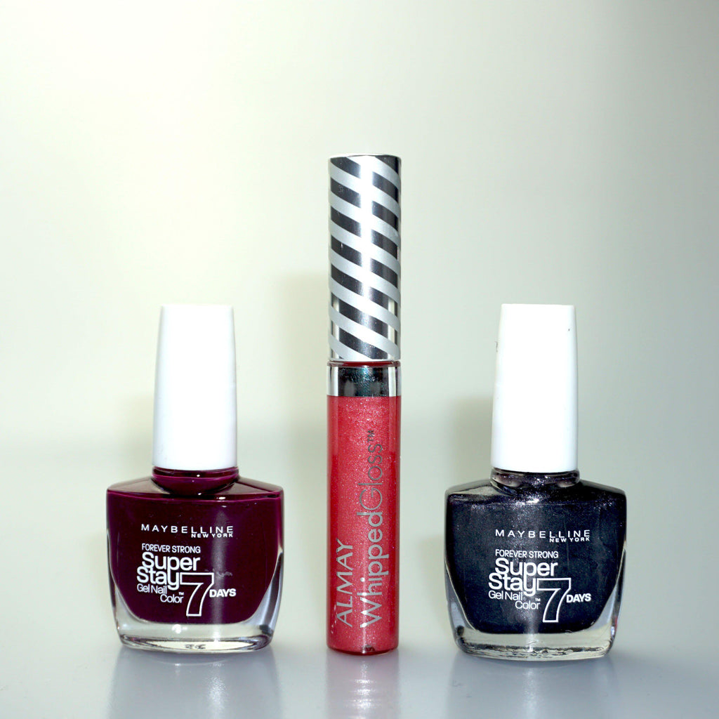Maybelline Nail Varnish Set | 3 Piece Set | Equinox Outlet