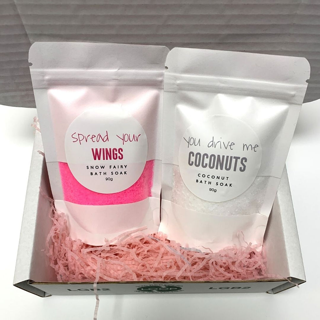 Alvisse Cosmetics Bath soak Set