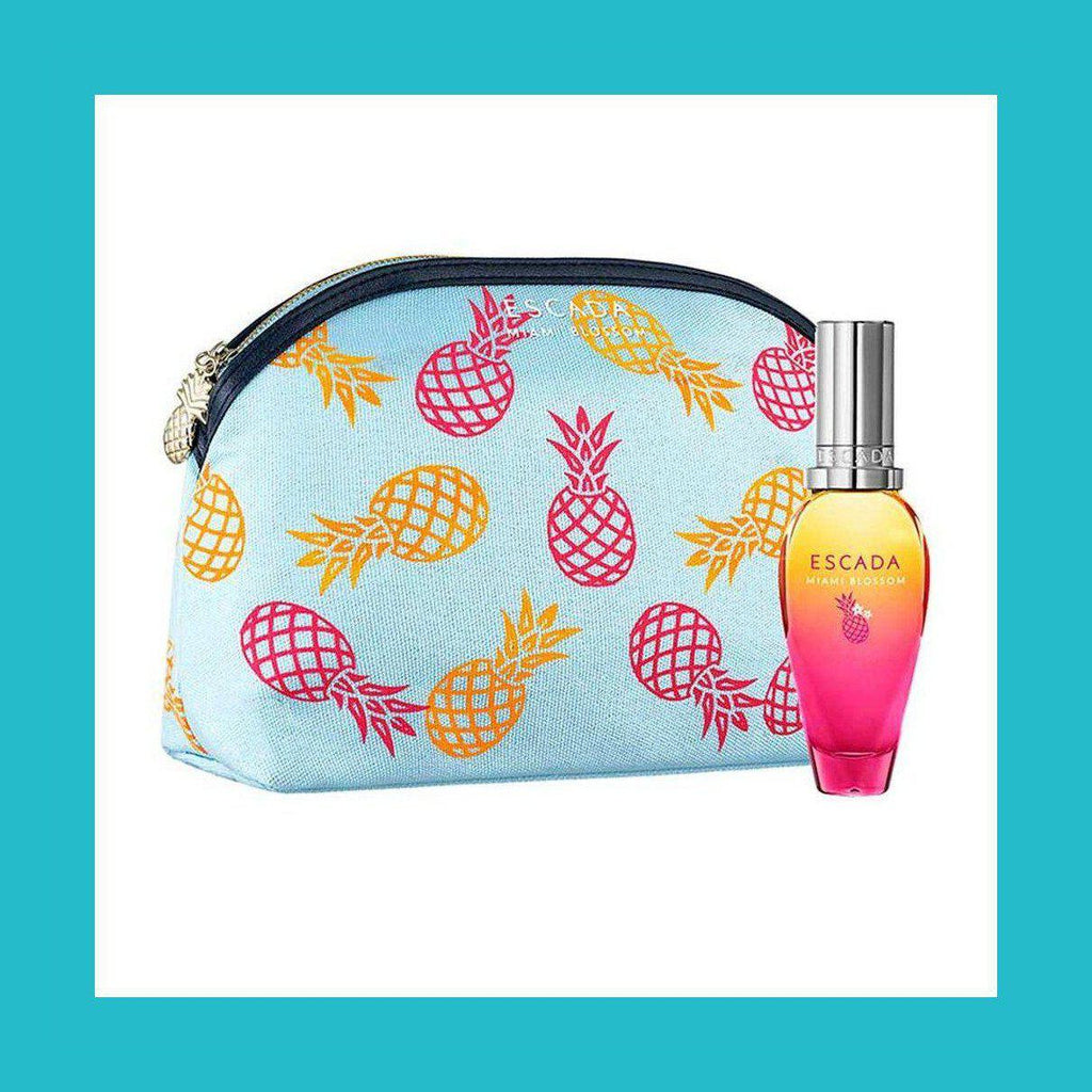 Escada Miami Blossom Gift Set 30ml EDT + Cosmetic Bag | Equinox Outlet