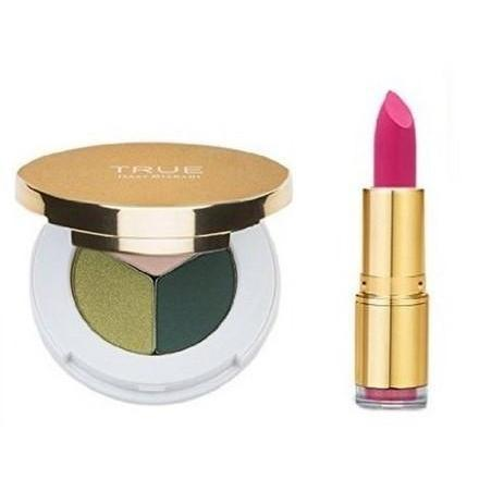 True Cosmetics Lip Stick & Eyeshadow Trio | Equinox Outlet