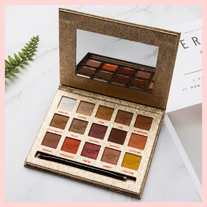 Love Is Sweet Time 15 Colours Eyeshadow Palette – Champagne Glitter Package | Equinox Outlet