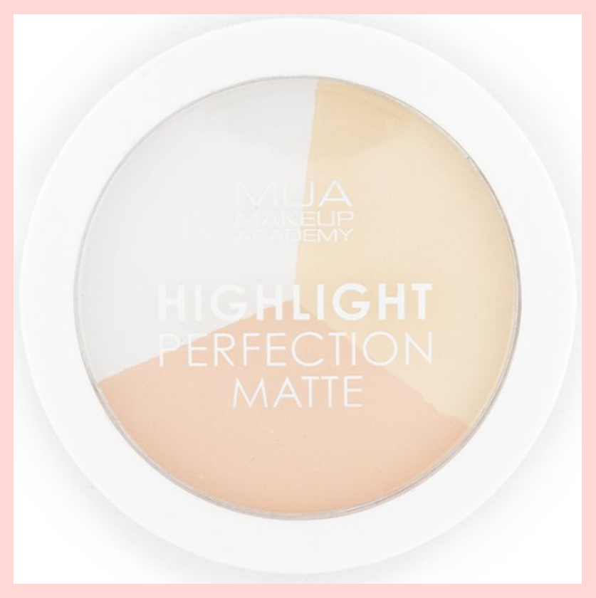 MUA Highlight Perfection Matte Highlighter Compact – Natural Light | Equinox Outlet