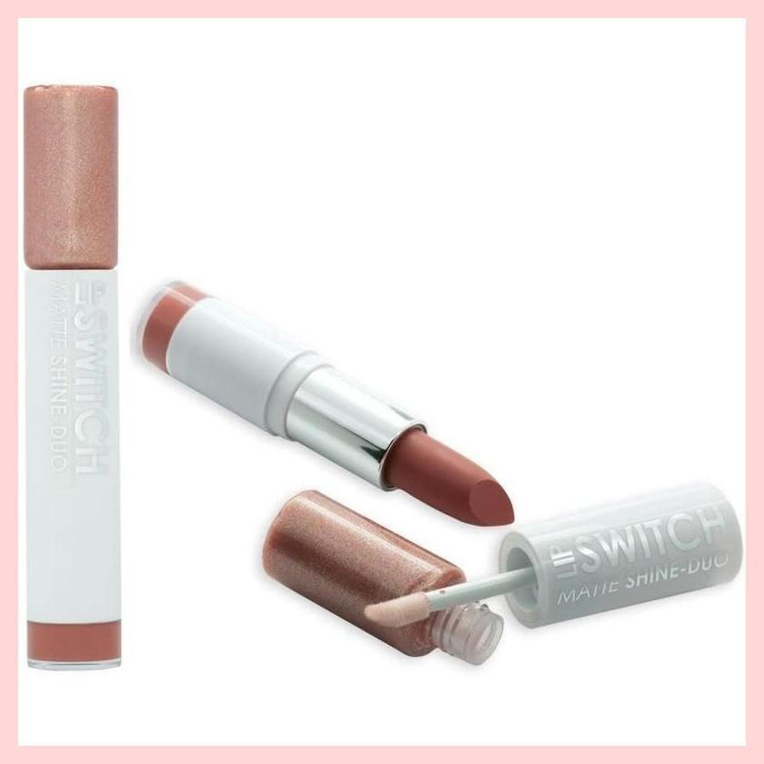MUA Lip Switch Matte Lipstick n Shine Gloss Duo | Equinox Outlet