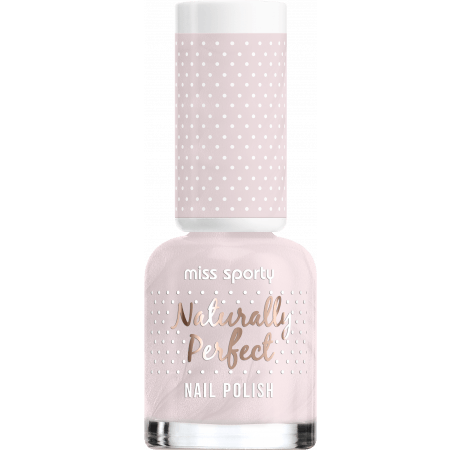 Miss Sporty Naturally Perfection 8ml Nail Polish – Rose Macaron - equinoxoutlet