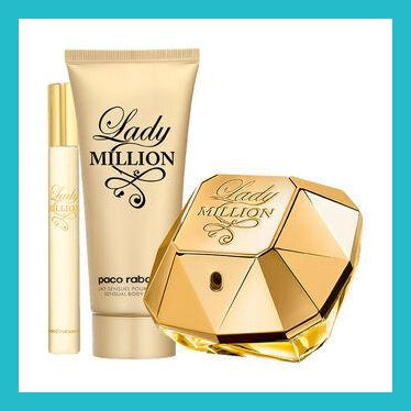 Paco Rabanne Lady Million Gift Set 80ml EDP + 100ml Body Lotion | Equinox Outlet