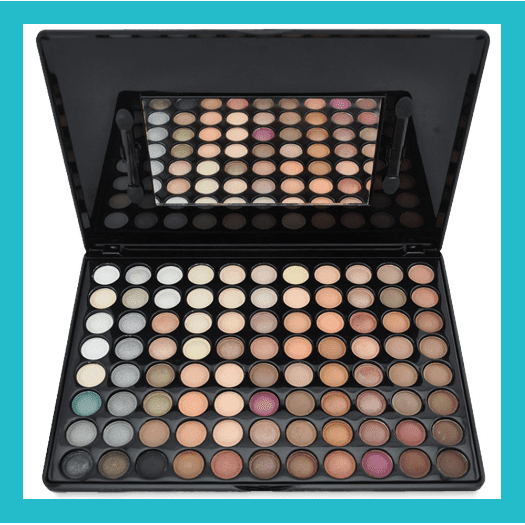 Popfeel 88 Colours Eyeshadow Palette - Nude | Equinox Outlet