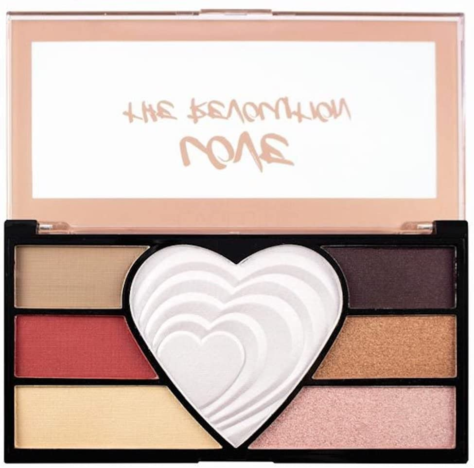 Revolution Love the Revolution Eyeshadow Palette - equinoxoutlet