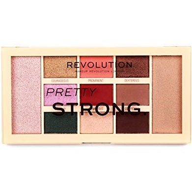 Revolution Pretty Strong Eyeshadow Palette - equinoxoutlet