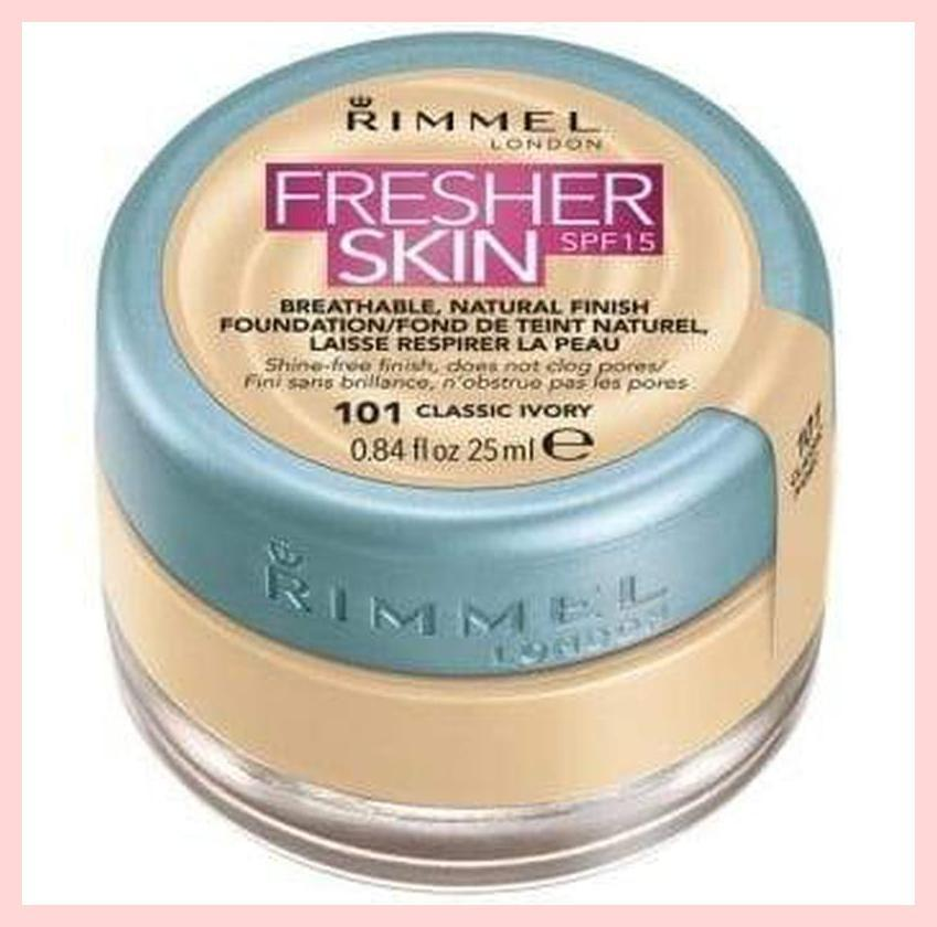 Rimmel London Fresher Skin Foundation SPF 15 | Equinox Outlet