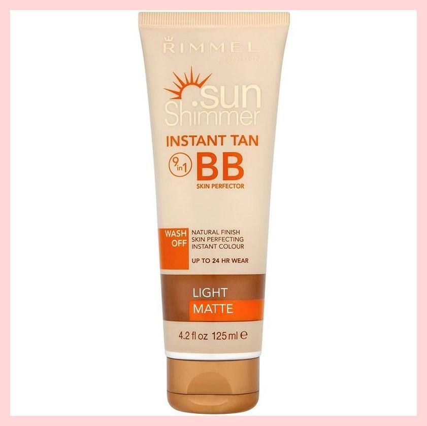 Rimmel Sun Shimmer Wash Off Instant Tan 9in1 BB Perfector | Equinox Outlet