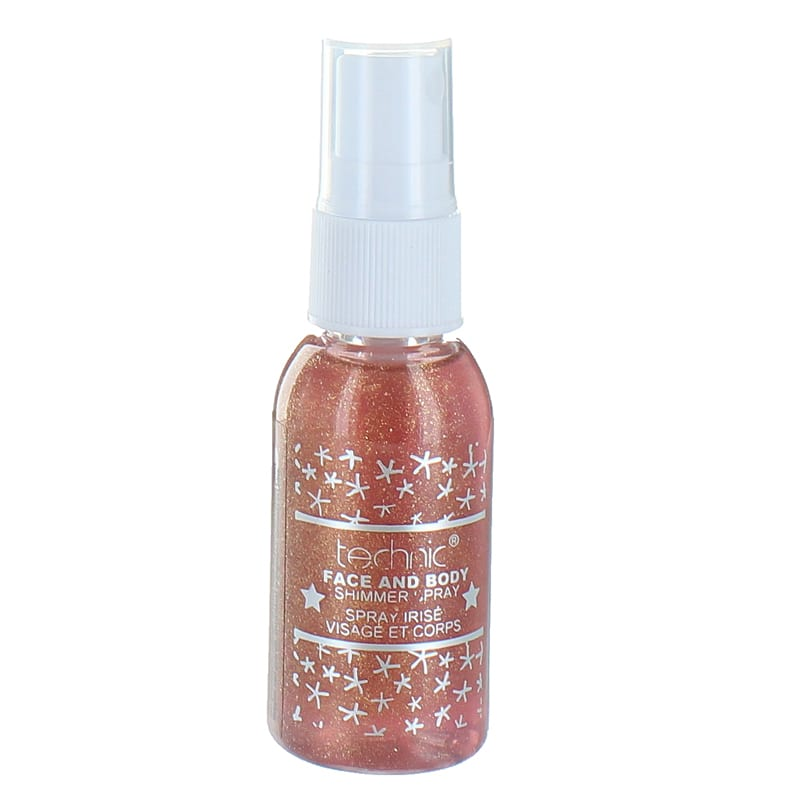 Technic Face And Body Shimmer Spray - equinoxoutlet