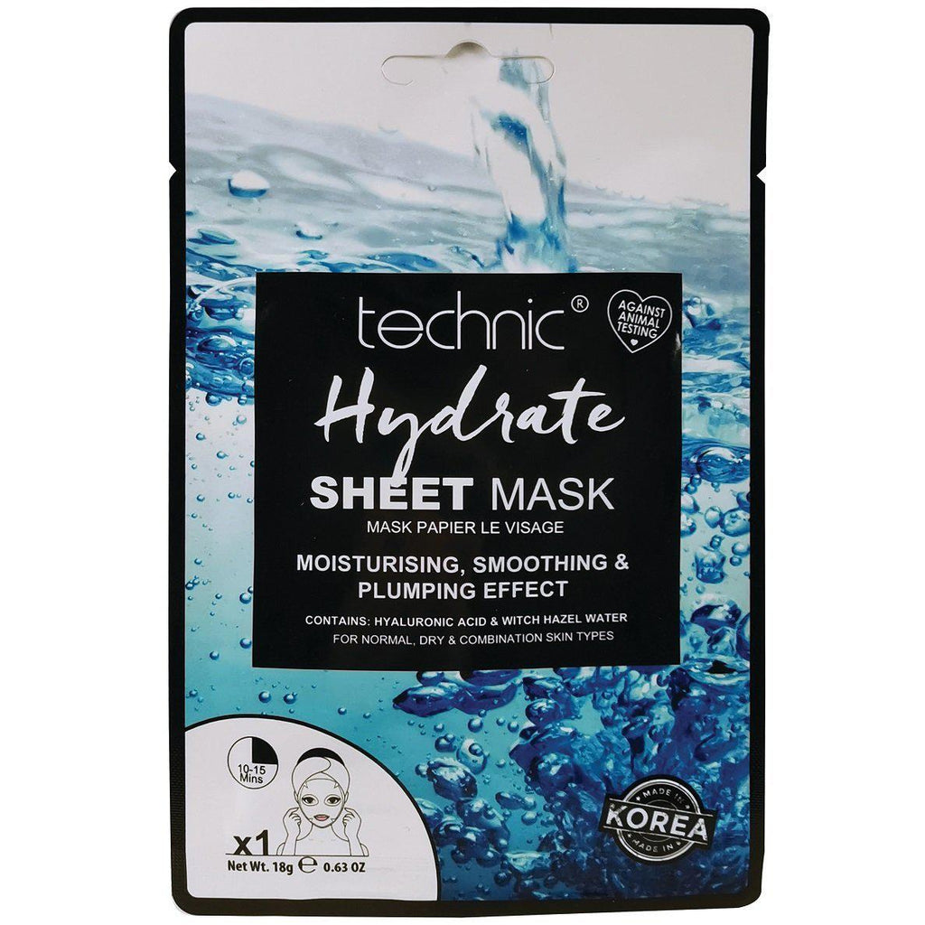 Technic Hydrate Sheet Face Mask | Equinox Outlet