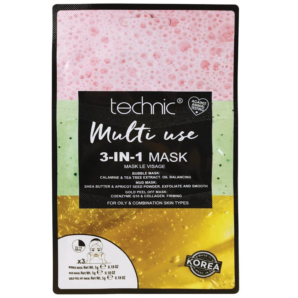 Technic Multi Use 3-In-1 Face Mask | Equinox Outlet