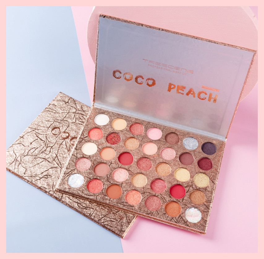 35 Colours Coco Peach Eyeshadow Palette | Equinox Outlet