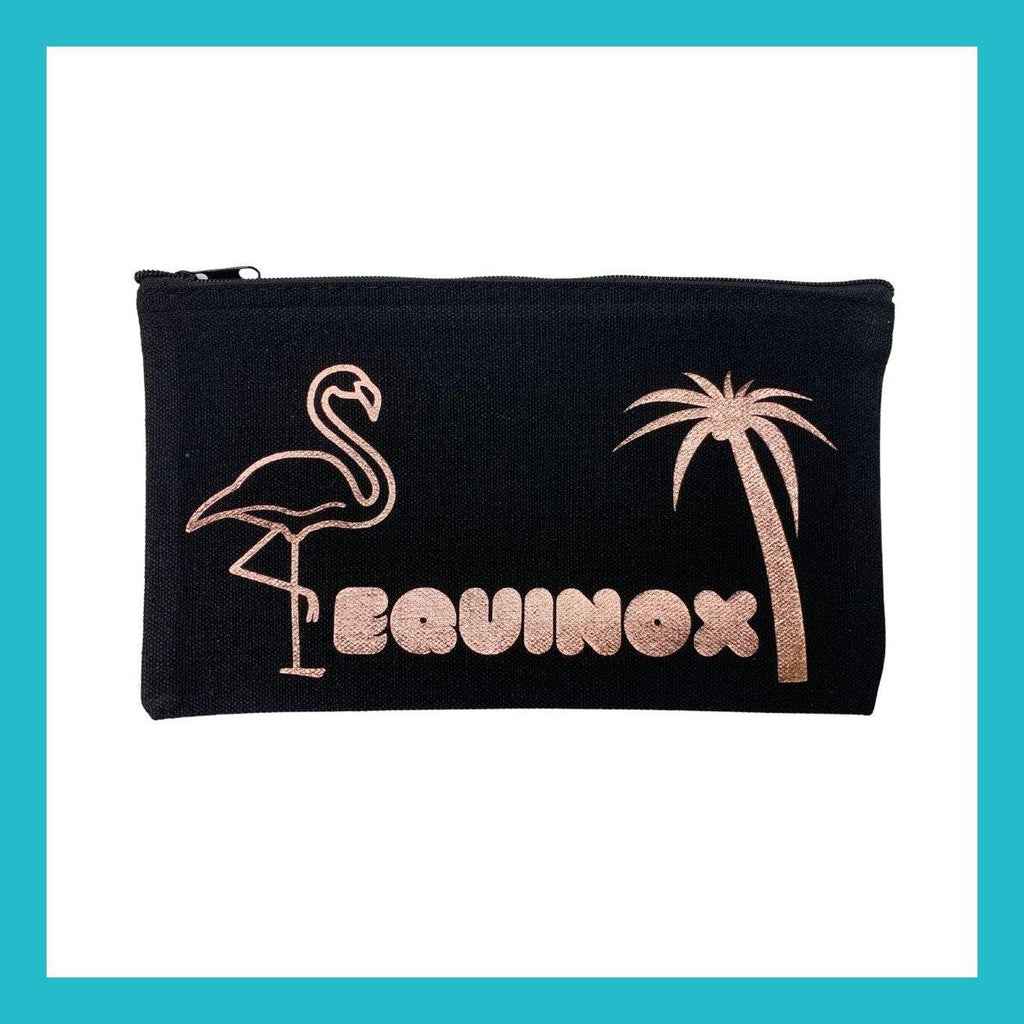 Equinox Flamingo Makeup Pouch | Equinox Outlet