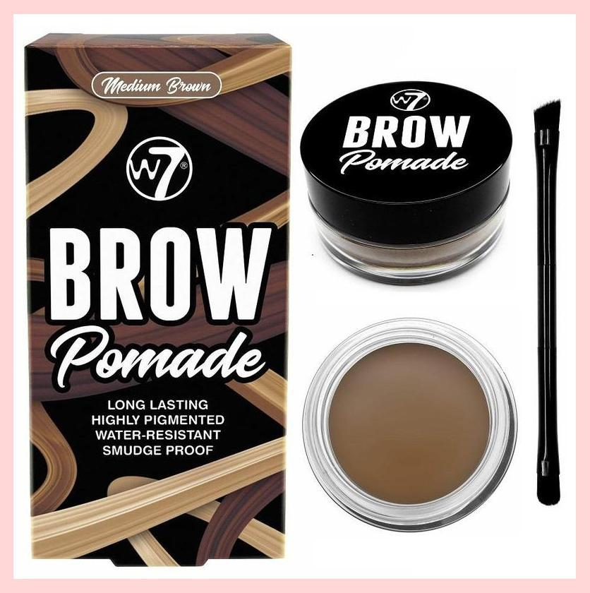 W7 Brow Pomade Eyebrow Gel with Brush | Equinox Outlet