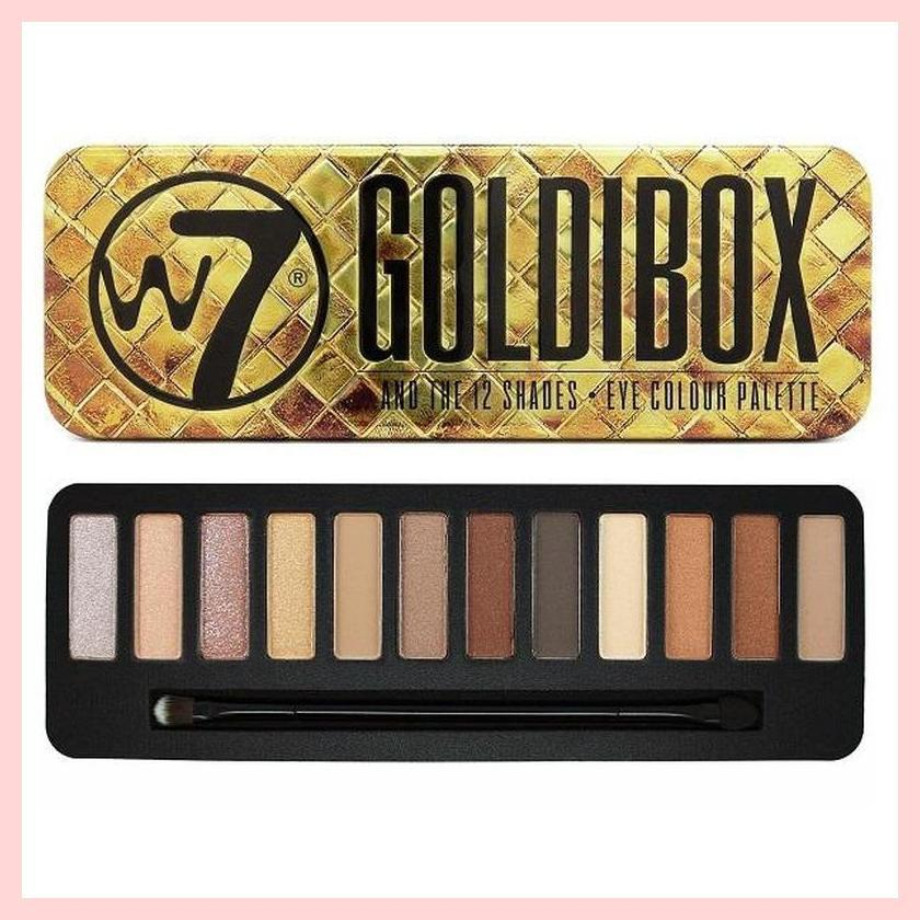 W7 Goldibox 12 Colours Eyeshadow Palette | Equinox Outlet