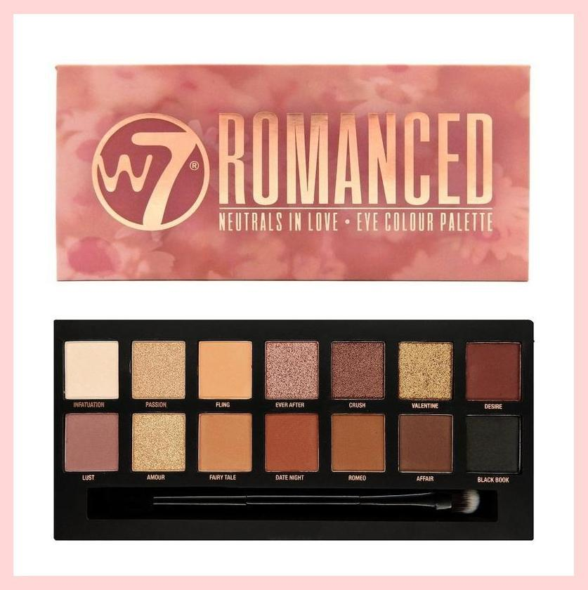 W7 Romanced Eyeshadow Palette | Equinox Outlet